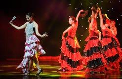 Kończyć ---Hiszpański Krajowy taniec Obraz Stock
