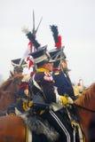 Końscy jeźdzowie Obrazy Royalty Free