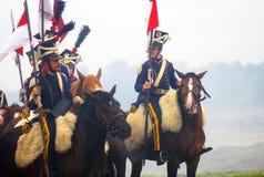 Końscy jeźdzowie Fotografia Stock