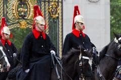 Końscy strażnicy Fotografia Stock