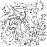 końska magia Obrazy Royalty Free