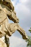 Końska rzeźba obraz stock