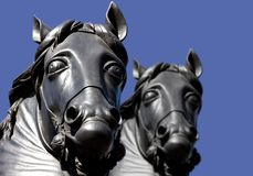 Końska statua w Londyn obrazy royalty free