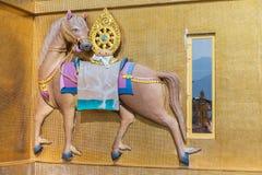 Koński barelief przy Buddha Dordenma, Thimphu, Bhutan obrazy stock