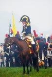 Koński jeźdza portret Obrazy Royalty Free