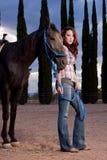 koński jeździec Zdjęcie Stock