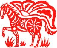 koński Oriental royalty ilustracja