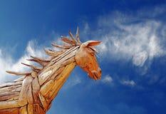koński parujący trojańczyk Zdjęcia Stock
