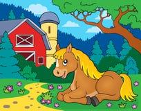 Koński tematu wizerunek 5 Fotografia Royalty Free