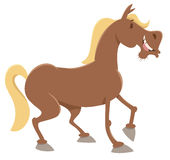 Koński zwierzęta gospodarskie charakter ilustracji