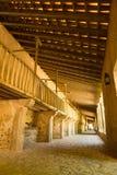Końskie stajenki w Hiszpańskim monasterze Obrazy Royalty Free