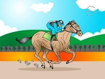 końskiej rasy turniej ilustracji