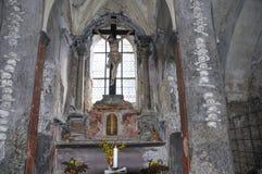 Kość kościół przy Kutna Hora Zdjęcie Royalty Free