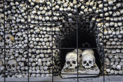 Kość kościół przy Kutna Hora Zdjęcie Stock