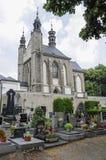 Kość kościół przy Kutna Hora - powierzchowność i cmentarz Obraz Royalty Free