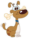 kość pies royalty ilustracja