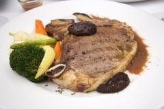 Kość stek zdjęcie royalty free