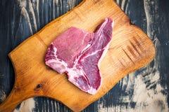 Kość stek Fotografia Stock