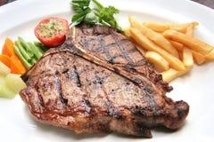 kość stek t Fotografia Stock