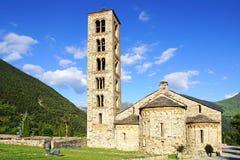 Kościół Łagodny Tahull St Zdjęcie Royalty Free