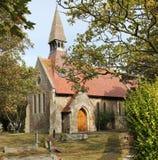 kościół śpiący Zdjęcia Royalty Free