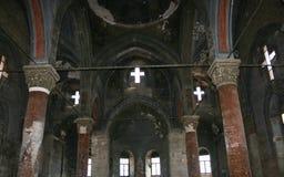 kościół średniowieczny Obraz Royalty Free