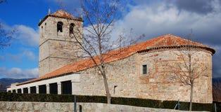 kościół średniowieczny hiszpański Zdjęcia Stock