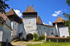 kościół średniowieczny warowny Fotografia Royalty Free