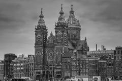 Kościół świątobliwy Nicholas Zdjęcia Stock