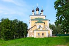 Kościół Święci męczennicy Florus i Laurus, Uglich, Rosja Zdjęcie Royalty Free