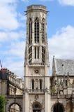Kościół świętego Germain l'Auxerrois w Paryż zdjęcia stock