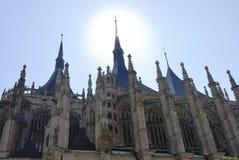 Kościół święty Barbara, UNESCO Zdjęcie Stock