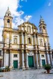 Kościół święty Dominic w Palermo, Włochy Obrazy Stock