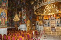 Kościół święty Gregory Palamas obrazy royalty free
