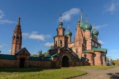 Kościół święty John Chrysostom w Korovniki zdjęcie royalty free