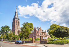 Kościół święty Lambert w Eindhoven Zdjęcia Stock