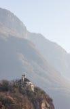 Kościół święty sepulcher Chiesa Del Santo sepolcro wzdłuż t Zdjęcie Stock