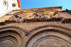 Kościół Święty Sepulchre w Jerozolima Obrazy Royalty Free