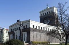 Kościół Święty serce w Praga Obrazy Royalty Free