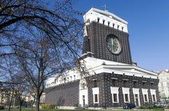 Kościół Święty serce w Praga Obraz Royalty Free
