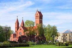 Kościół święty Simon i Helena. Minsk. Belarusia Obraz Royalty Free