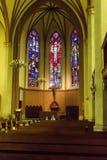 Kościół Święty wybawiciela Nave Obraz Royalty Free