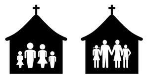 Kościół ilustracja wektor