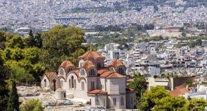 Kościół Agia Marina Zdjęcia Stock