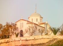 Kościół Agia Paraskevi, Grecja Obrazy Stock