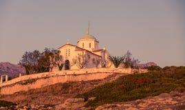 Kościół Agia Paraskevi, Grecja Obrazy Royalty Free