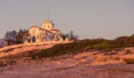 Kościół Agia Paraskevi, Grecja Fotografia Stock