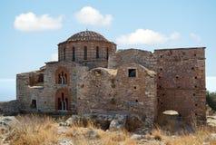 Kościół Agia Sophia przy Monemvasia Zdjęcie Stock