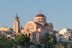 Kościół Agioi Theodoroi przy Saloniki Zdjęcia Royalty Free