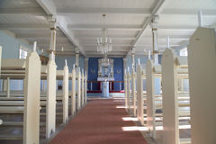 Kościół Alluitsoq, Greenland obrazy stock
